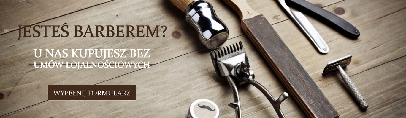 Jesteś Barberem ?